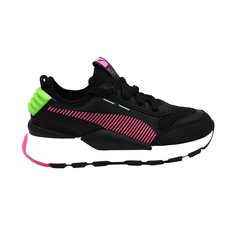 US $108.92 |PUMA RS 0 REIN SNEAKERS Black Pink fluorescent green white  371828 03 (36 black)|Sneaker Accessories| - AliExpress