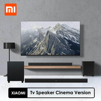 Xiaomi-altavoz para TV, versión de cine, 2,1 canales, interfaz de entrada múltiple de aleación de aluminio, 100W, modo Cine en potencia, Subwoofer independiente