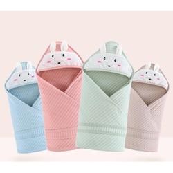 Bebês sacos de dormir recém-nascidos menino menina bonito dos desenhos animados swaddle envoltório envelope cobertor do bebê swaddling sleepsack 90*90cm