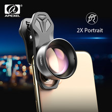 Apexel Hd 2X Telescoop Lens 4K Tele Zoom Phone Camera Lens Cpl Star Filter Voor Huawei Samsung Alle Smartphone drop-Verzending