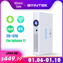 BYINTEK Brand UFO R19 300inch 3D Smart Android WIF