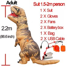 Purim Inflatable tyrannosaurus rex costume Halloween Cosplay Party t rex dinosaur toy costume cosplay halloween party game adult children inflatable suit tyrannosaurus rex dinosaur inflatable clothes show props