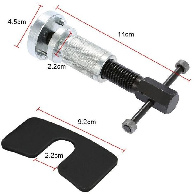 ¡Novedad! herramienta de mano de rebobinado de pistón para pastillas de freno de disco de cilindro de rueda de coche profesional