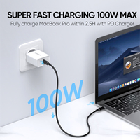 Ugreen 5A USB C to Type C Cable for Macbook Pro PD100W USB 3.1 Gen 2  2