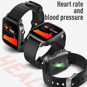 Image 4 - Montre sport connectée SP1 pour hommes et femmes, avec mesure de la température corporelle, fréquence cardiaque, SPO2, oxygène sanguin, VS W26 W46