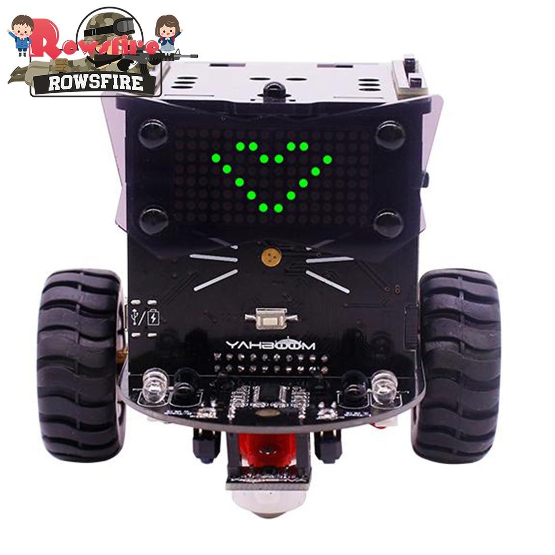 2019 New Hot 1 Set Standard Version Omibox Scratch Programmable Robot Car Kit