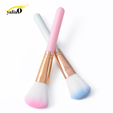 Get more info on the YALIAO Professional Blush Loose Powder Makeup Brush Face Cheek Make Up Tools Synthetic Hair Foundation Cosmetic Blusher Brush