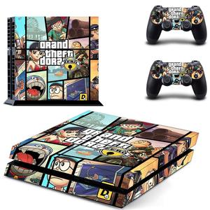 Image 5 - Grand Theft Auto V GTA 5 PS4 Skin Sticker Decals Cover For PlayStation 4 PS4 Console & Controller Skins Stickers Vinyl