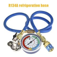 A/C R134 A Refrigerant Recharger Hose Low Pressure Car Air Conditioning detection Gauge General purpose