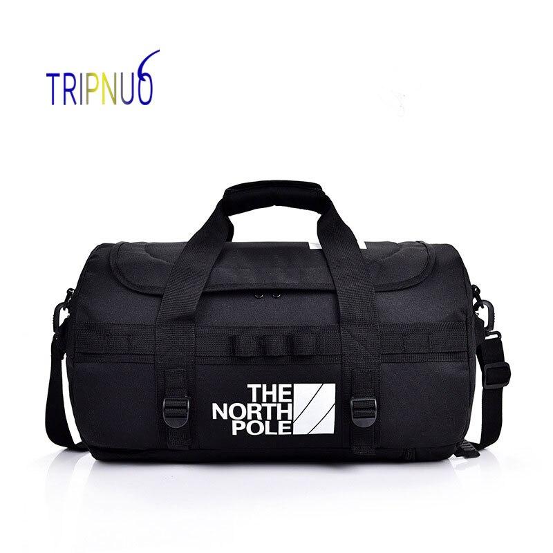 TRIPNUO High Capacity Travel Bag Big Fitness Handbag Bag Luggage Shoulder Bag For Men Duffle Bag Waterproof