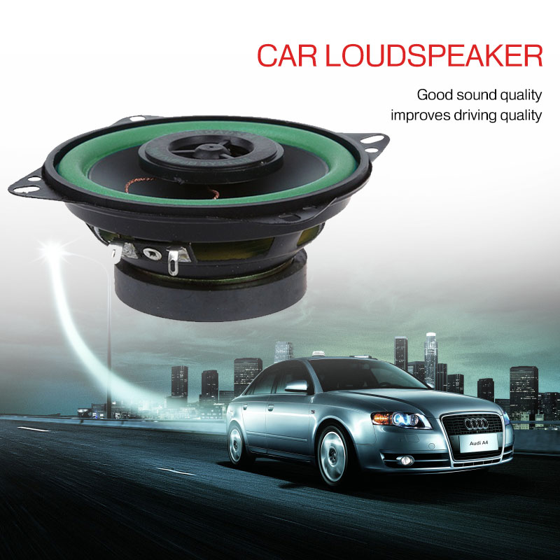 Wasserdicht Audio Bass Lautsprecher Elektronik 4 Zoll Zubehör 88dB Schwarz 80W Auto Elektronische Subwoofer Lautsprecher Systeme