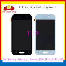 10Pcs/lot Brightness LCD For Samsung Galaxy J1 Ace J110 SM-J110F J110H LCD Display Touch Screen Digitizer Assembly Replacement цена