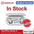 Globale Version OnePlus Knospen Z Drahtlose Kopfhörer OnePlus Offizielle Shop TWS Bluetooth 5 Schnelle Ladung IP55 Für OnePlus 9 9Pro 9R 8T