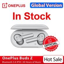 Versão global oneplus botões z fone de ouvido sem fio oneplus loja oficial tws bluetooth 5 carga rápida ip55 para oneplus 8t nord n10; code: 328TUDO3($30-3); 2021AE328($50-7)