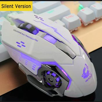 Professional Wired Gaming Mouse 6 Buttons 4000DPI LED Optical USB Computer Mouse Gamer Mouse Silent Mouse For laptop PC LOL CS цена 2017