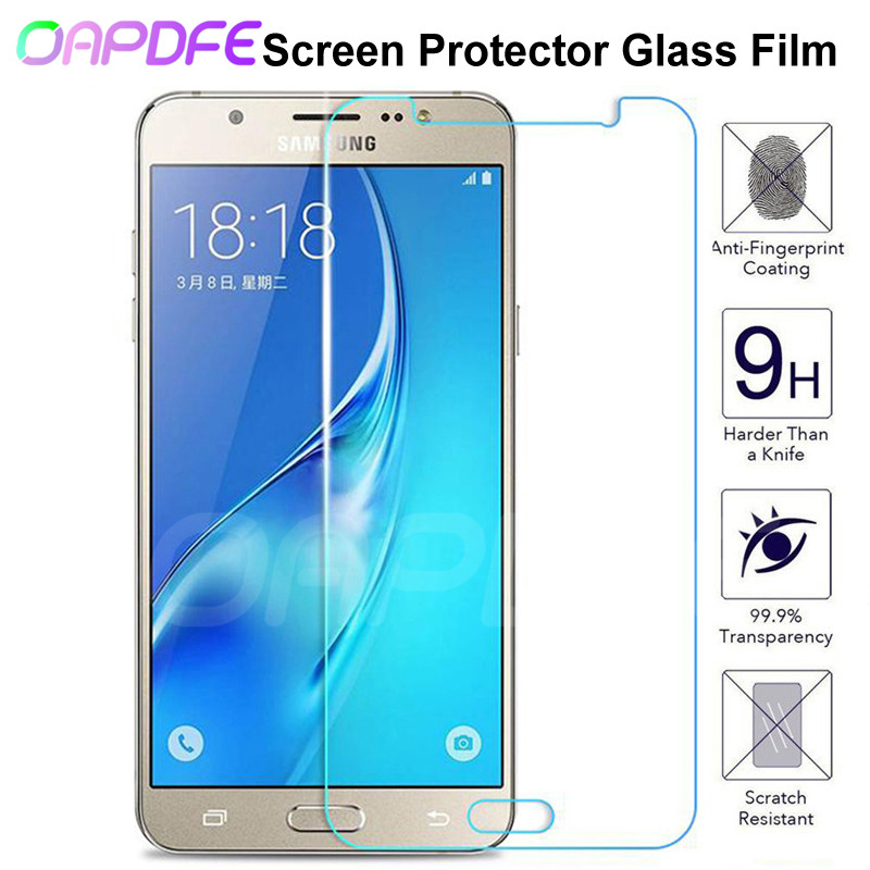 Tempered Protective Glass On For Samsung Galaxy A3 A5 A7 J3 J5 J7 2015 2016 2017 A6 A8 Plus A9 2018 Screen Protector Glass Film