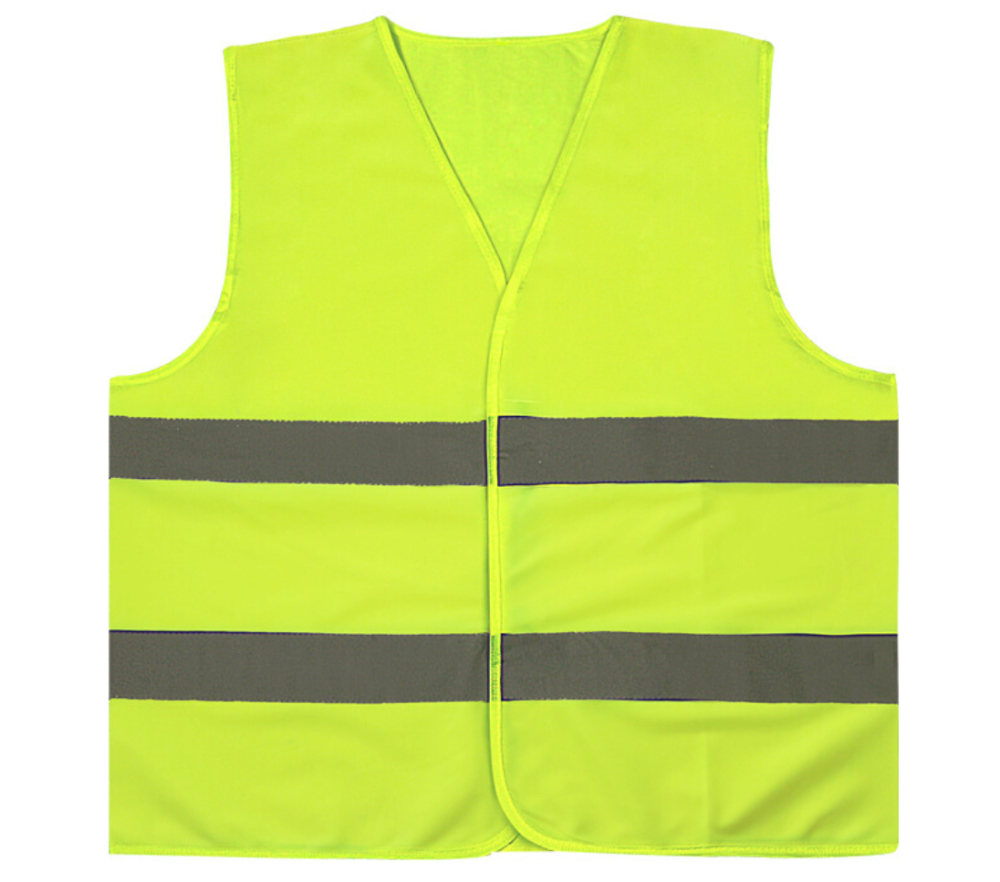 Nouveau gilet réfléchissant en plein air équitation sécurité assainissement travailleurs vêtements trafic voiture gilets haute visibilité Fluorescent jaune manteau