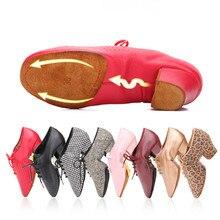 2020 أحذية الرقص اللاتينية للنساء المعلم حذاء الفتيات السيدات جلدية قاعة الرقص الفالس التانغو Foxtrot خطوة سريعة أحذية الرقص BD