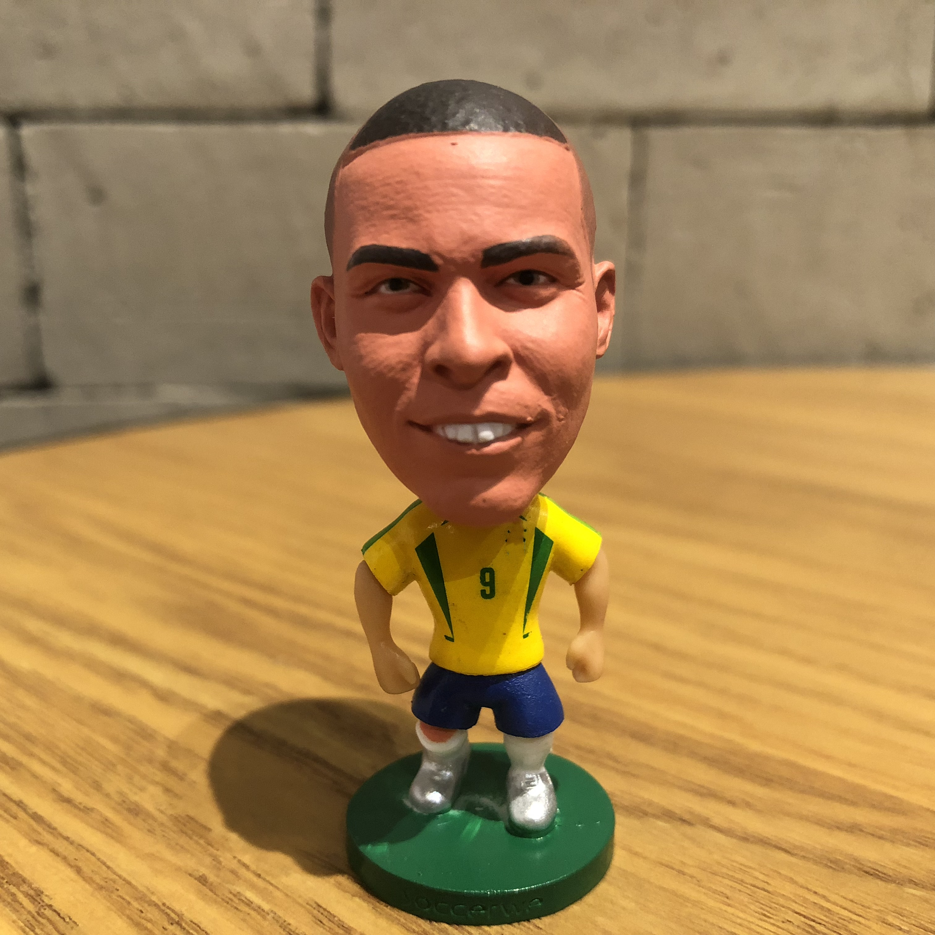 Football Star Ronaldo Classic Resin Doll Action Figure 6.5 Cm Mini Toy Collectible Gift