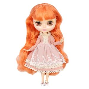 Image 5 - ICY factory Blyth doll Joint body with hands Glossy face with big breast different hair color Natural skin 30cm 1/6 toy gift