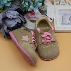 Image 2 - TipsieToes Thương Hiệu Chất Lượng Cao Da Thật Khâu Trẻ Em Giày Trẻ Em Ngôi Sao Cho Bé Trai Và Bé Gái 2020 Apring Hàng Mới Về