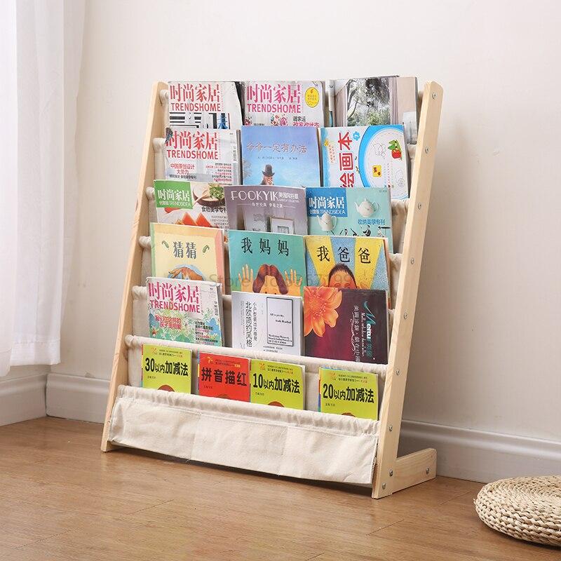 Children's Bookshelves, Children's Picture Frames, Solid Wood Landing, Kindergarten Babies, Shelves, Toy Racks.