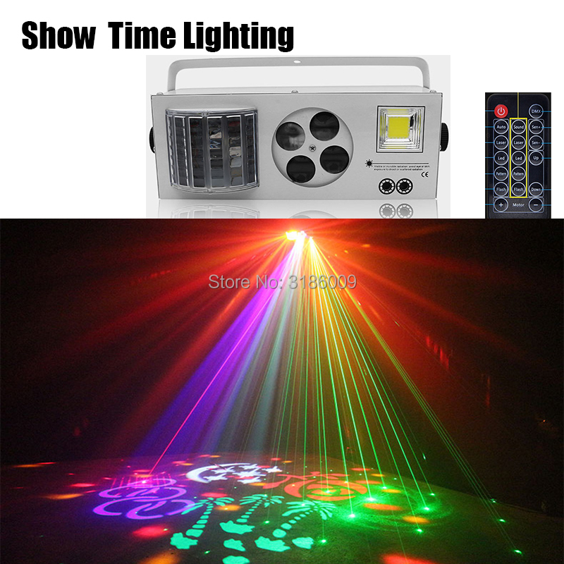 Designed For Europe/Russia Dj Laser Gobo Strobe LED 4 IN 1 Disco Light Good Use For Home Party Entertainment KTV Club