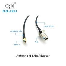 Longueur de N K dinterface de SMA J de câble dalimentation de lextension RG58 dantenne de Wifi XC NK SJ 300 3m pour lantenne de FRP