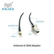 Przedłużacz anteny Wifi RG58 kabel zasilający N K SMA J interfejs XC NK SJ 300 długość 3m dla anteny FRP
