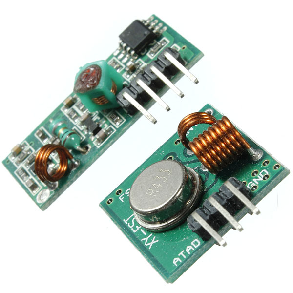 DC 5V 4mA 433.92MHZ XD-FST XD-RF-5V Wireless Transmitter Receiver Module