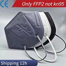 Respiratory Mask fpp2 , mascarilla fpp2 homologada Black Respiratory Mask ffp 2 kn95 Face Mouth masks ffp2reutilizable FFPP2