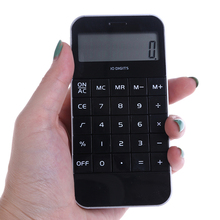 1Pc 10 Digits Display Pocket Electronic Calculating Calculator Office Supplies