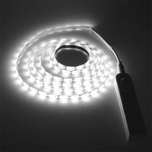 USB Led Strip Light Waterproof PIR Motion Sensor LED Bed Closet Night Light 1m/2m/3m LED TV Backlight Bias Lighting for HDTV pir motion sensor battery led strip light 3528 waterproof bed cabinet closet light 1m 2m 3m 5v usb led strip lamp tv backlight