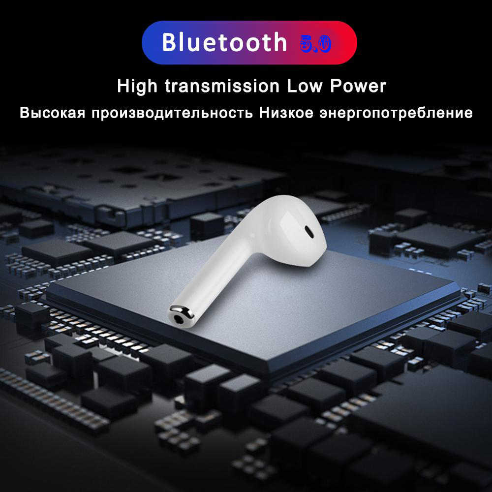Handsfree i7s TWS беспроводные наушники bluetooth наушники с микрофоном Спортивная гарнитура для iPhone Android всех смартфонов