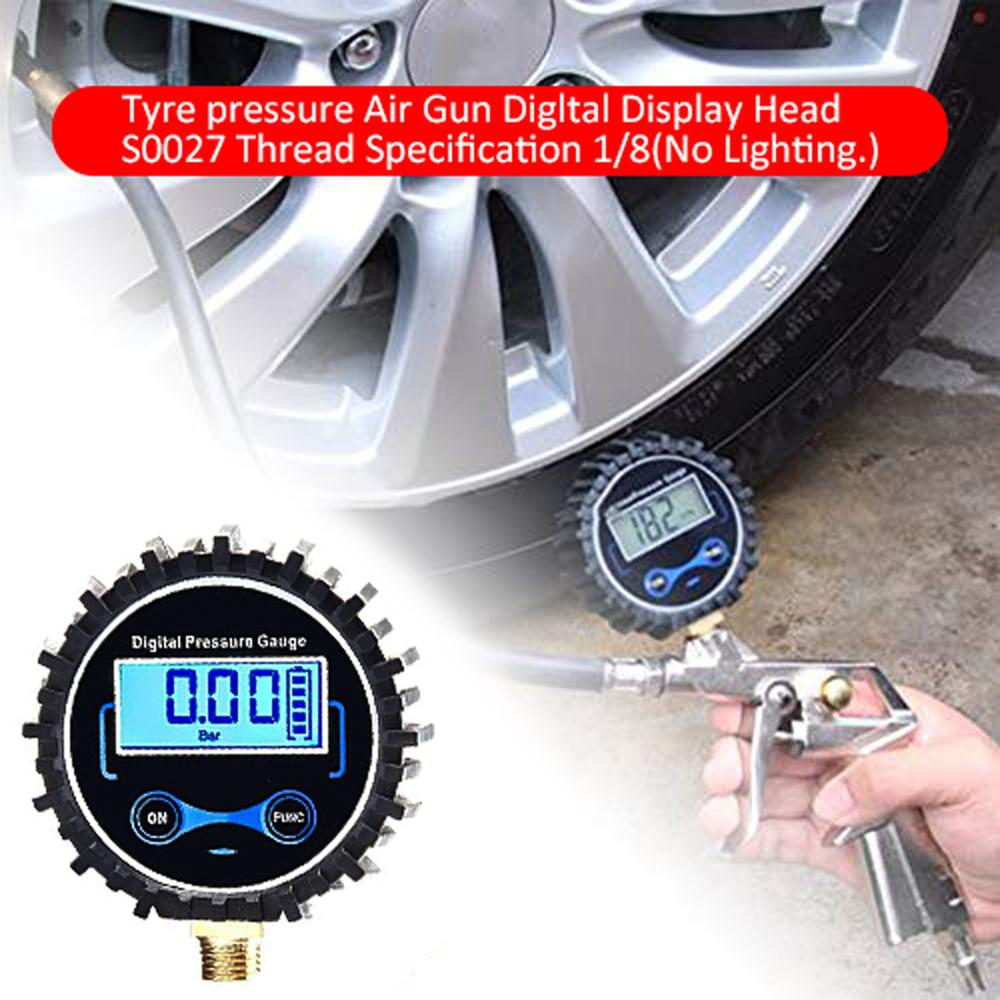 Pressure Gauge Electronic Car Tire Tester High Precision 5-150PSI Air Pressure