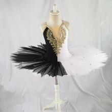 Profesyonel balerin bale tutu çocuk çocuk çocuklar için kız yetişkinler gözleme tutu dans kostümleri bale elbise kız