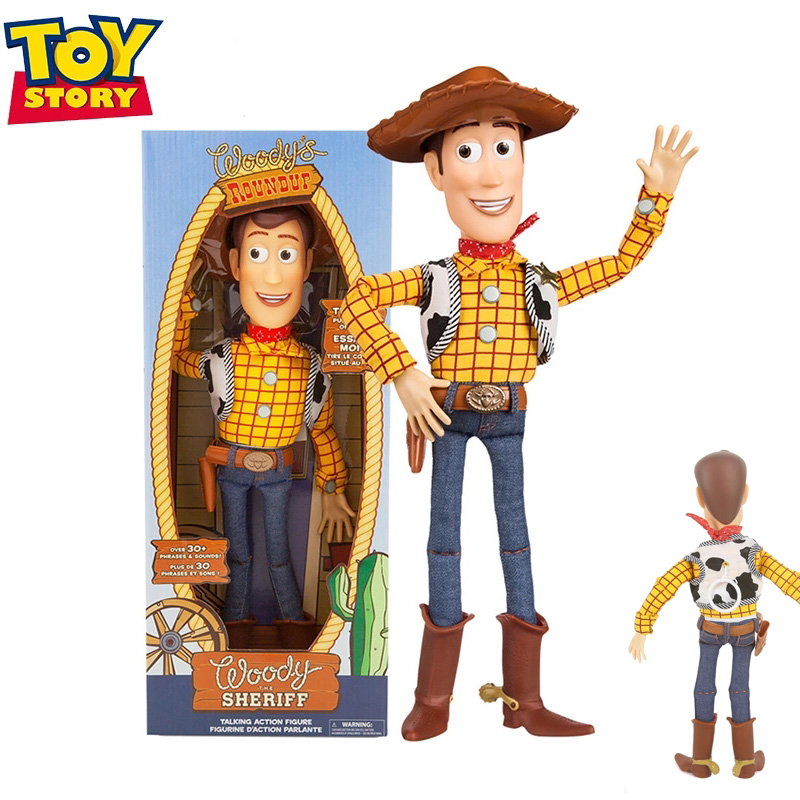 Collection Toys Cloth Toy-Story Action-Figures Body-Model Gifts Pixar Woody 4-Talking