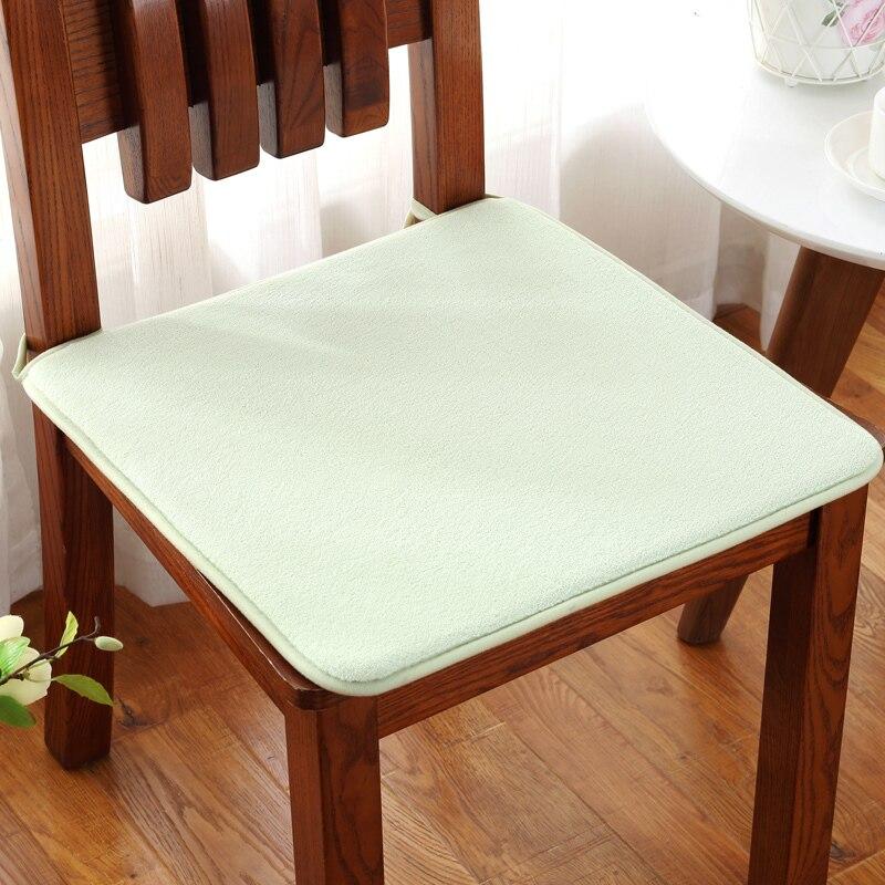 Modern Style Solid Seat Cushions Home Office Chair Cushion Non-slip Chair Pad Super Soft Comfortable Chair Cushion Home Decor