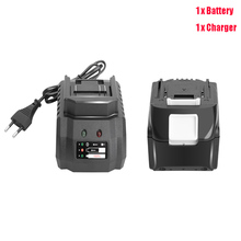 4000mAh Battery with Charger Lithium ion Rechargeable Replacement for Makita 18V Battery BL1850 BL1830 BL1860  Cordless Drills