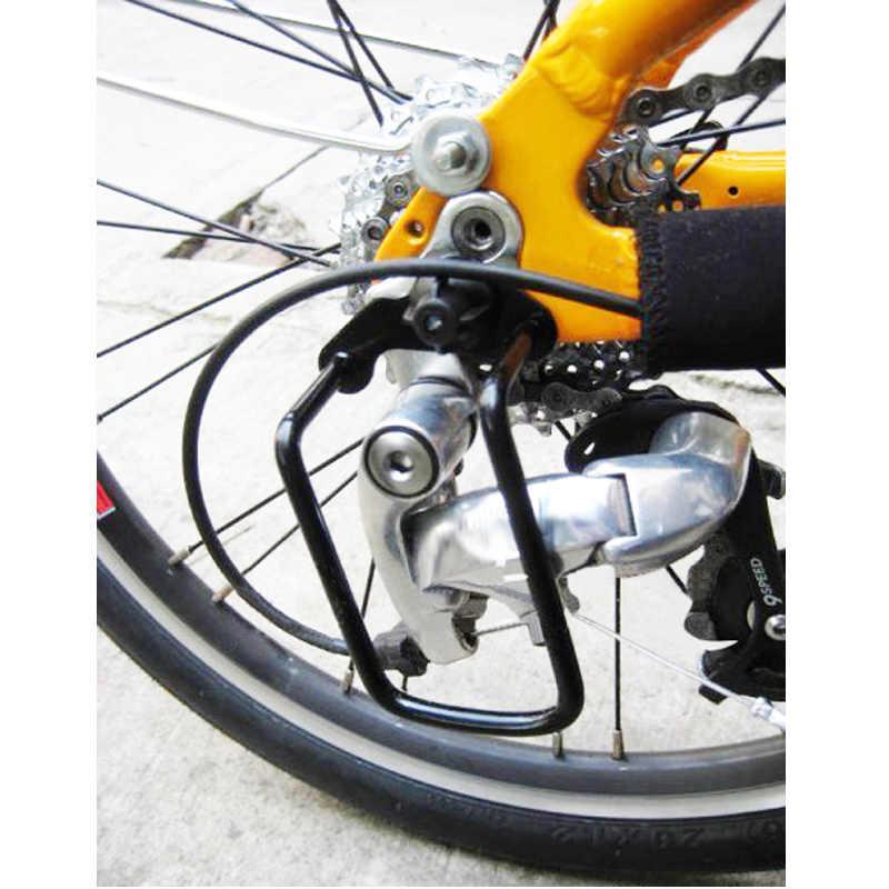 Cadre de couverture de protecteur de chaîne de cintre de dérailleur de bicyclette pour le cyclisme de VTT ZJ55