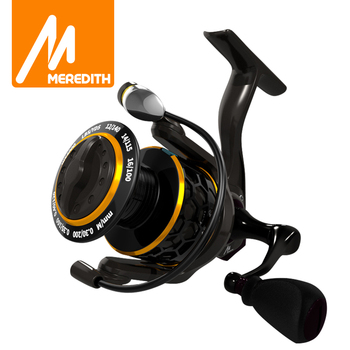 MEREDITH DAFNE KEEN Spinning Reel 5.2:1 2000 3000 4000 Triple Disc Carbon Drag 12KG Max Drag Power Bass Pike Carp Fishing Reels anyfish stage spinning fishing reel 2000 3000 4000 5000 6000 gear ratio 5 0 1 4 7 1 max drag 6kg 8kg 10 1bb fishing reels