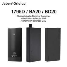 Jaben Oriolus 1795D BA20 BD20 Bluetooth Audio Receiver Converter Hi Definition Balanced AMP Hi Definition Balanced DAC