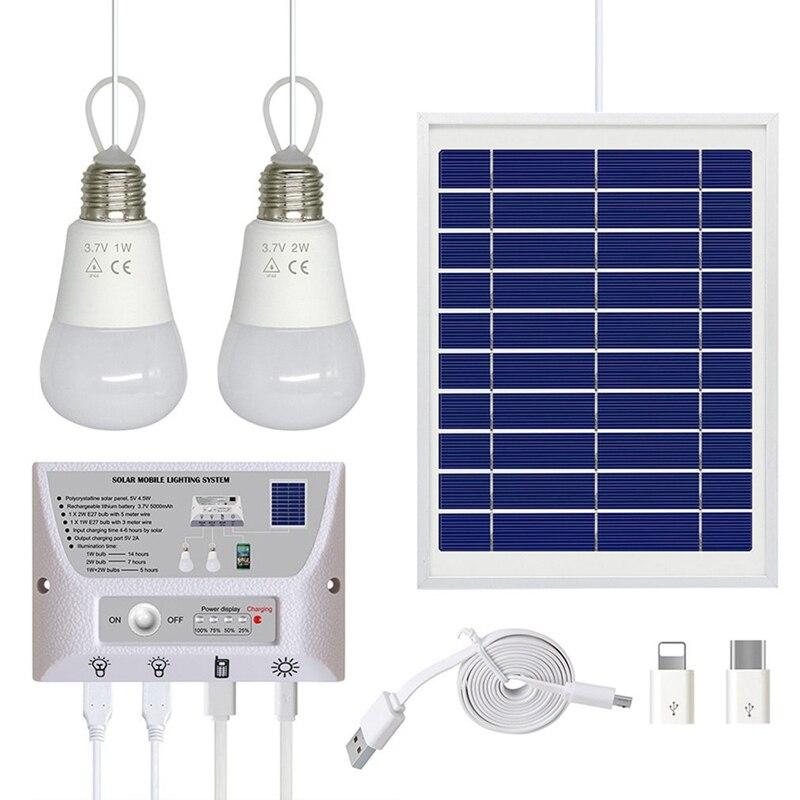 Abss Solar Outdoor Lighting System