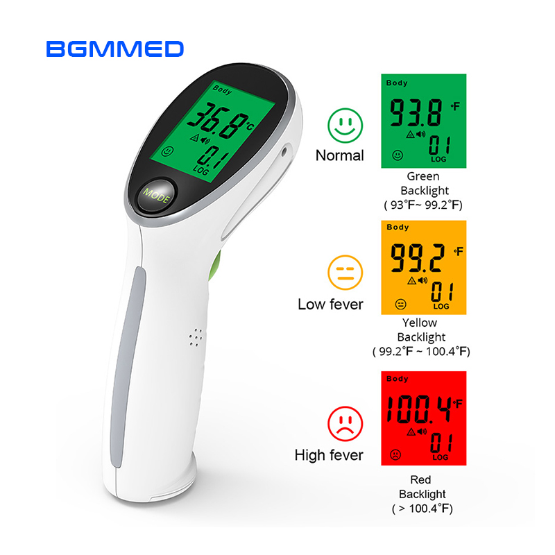 Portable Digital Thermometer Infrared Temperature Gun Non-contact Laser Baby Fever Temperature for Body & Surface