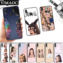 Ariana Grande Lovely Cartoon Silicone Soft Case for Huawei P8 P9 P10 P20 P30 Lite Pro P Smart Z Plus