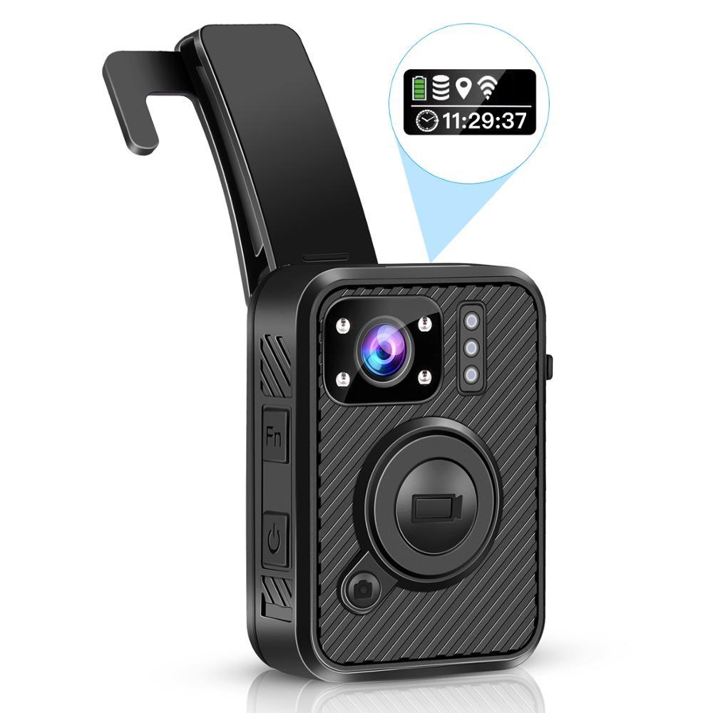 BOBLOV Wifi полицейская камера 64GB F1 Body Kamera 1440P изношенная камера s для правоприменения 10H запись gps видеорегистратор с ночным видением Cam