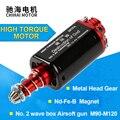 Chihai motor CHF-480WA-28TPA airsoft specna braços do motor longo d buraco alta velocidade aeg caixa de velocidades atualizar