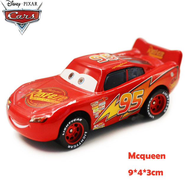 1:55 Cars Disney Pixar Cars Lightning McQueen King Sally Holley Alloy Diecast Toy Free Choice Set Children Birthday Gift