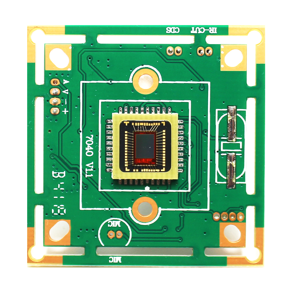 CCTV Camera Module Board 7040 CMOS Sensor Analog Camera Board Camera CVBS Signal Chip Board For Indoor Outdoor Camera
