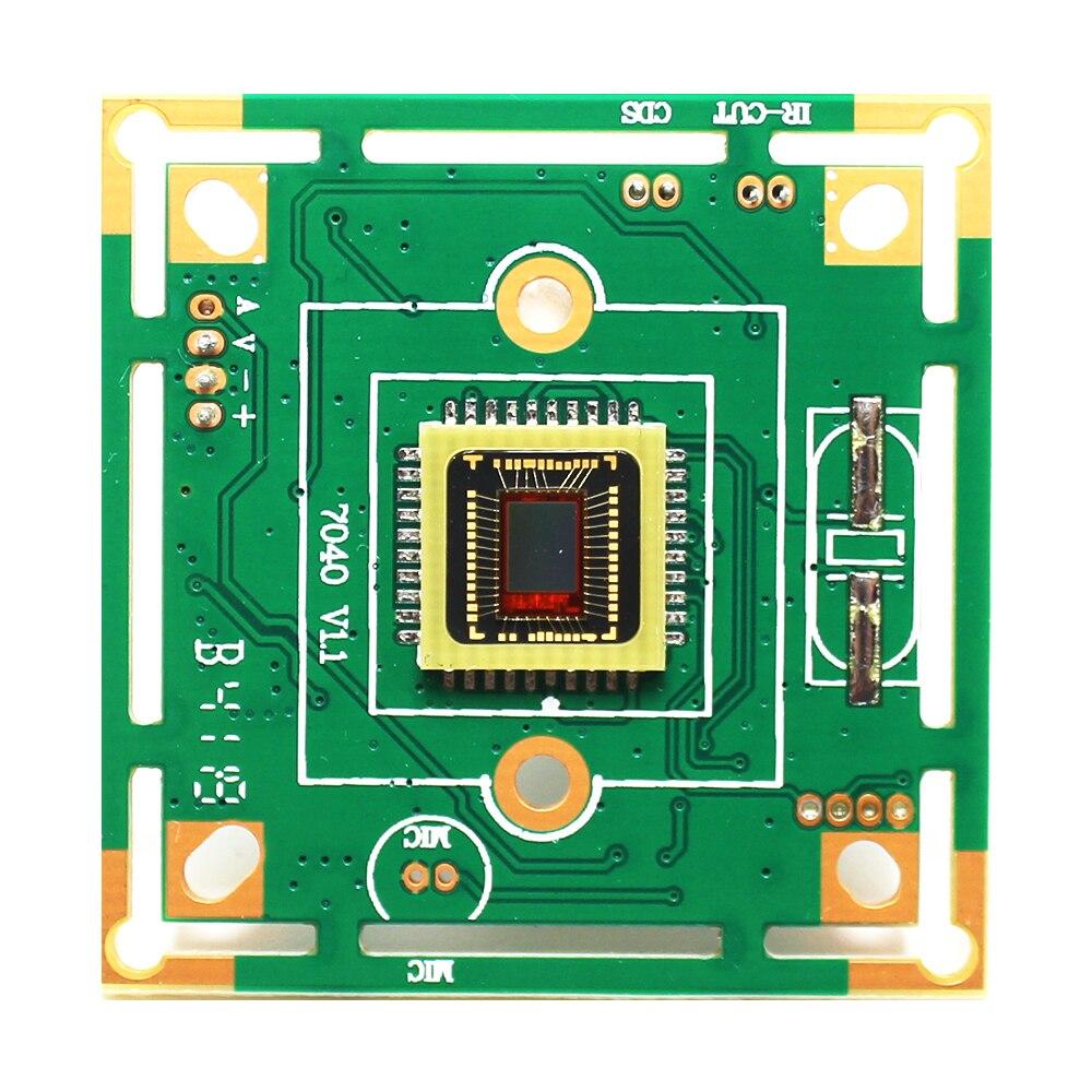 HD CMOS 1200tvl DIY CCTV Camera Module Board 7040 For Indoor Outdoor For Dome Bullet Security Surveillance
